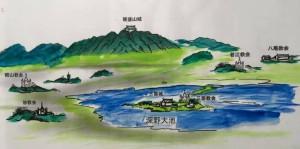 河内キリシタンイメージ図